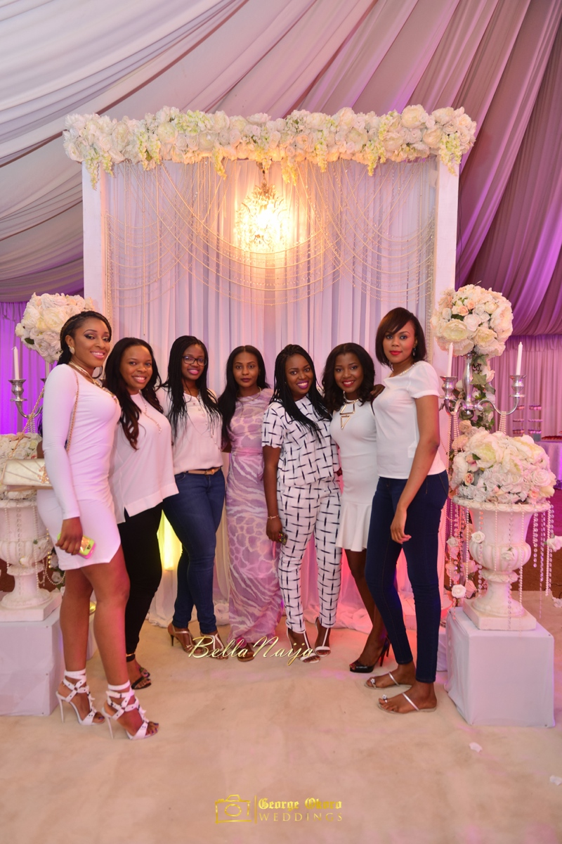 Jammie's Spectacular All-White Bridal Shower | Blue Velvet Marquee Abuja | George Okoro Photography | BellaNaija February 2015 01