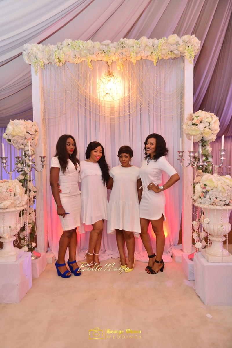 Jammie's Spectacular All-White Bridal Shower | Blue Velvet Marquee Abuja | George Okoro Photography | BellaNaija February 2015 02