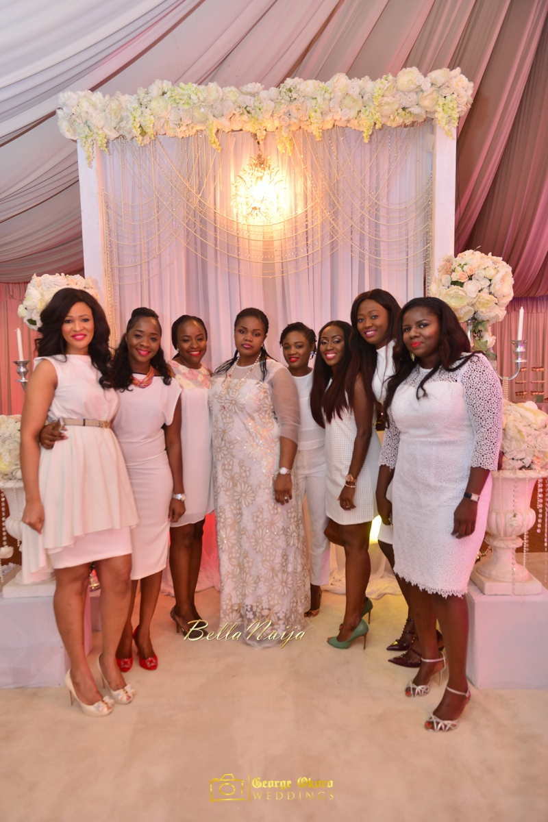 Jammie's Spectacular All-White Bridal Shower | Blue Velvet Marquee Abuja | George Okoro Photography | BellaNaija February 2015 04