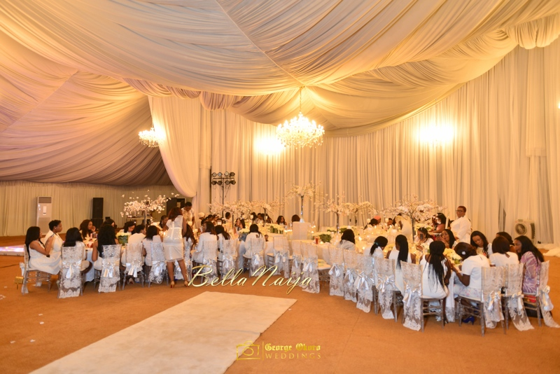 Jammie's Spectacular All-White Bridal Shower | Blue Velvet Marquee Abuja | George Okoro Photography | BellaNaija February 2015 10