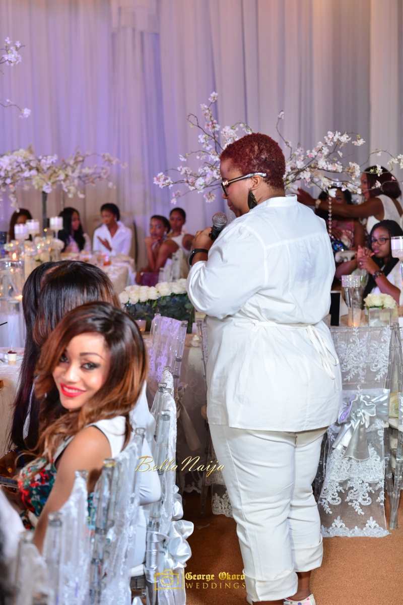 Jammie's Spectacular All-White Bridal Shower | Blue Velvet Marquee Abuja | George Okoro Photography | BellaNaija February 2015 15