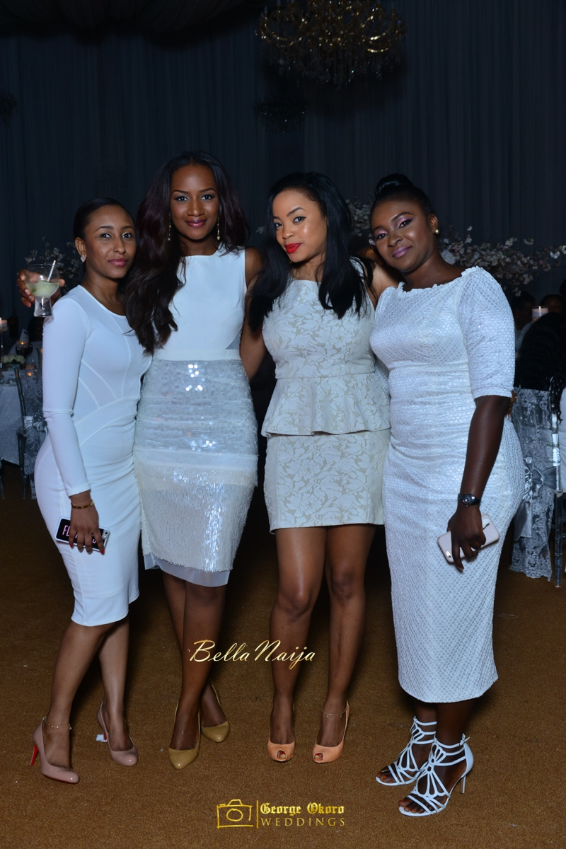 Jammie's Spectacular All-White Bridal Shower | Blue Velvet Marquee Abuja | George Okoro Photography | BellaNaija February 2015 20