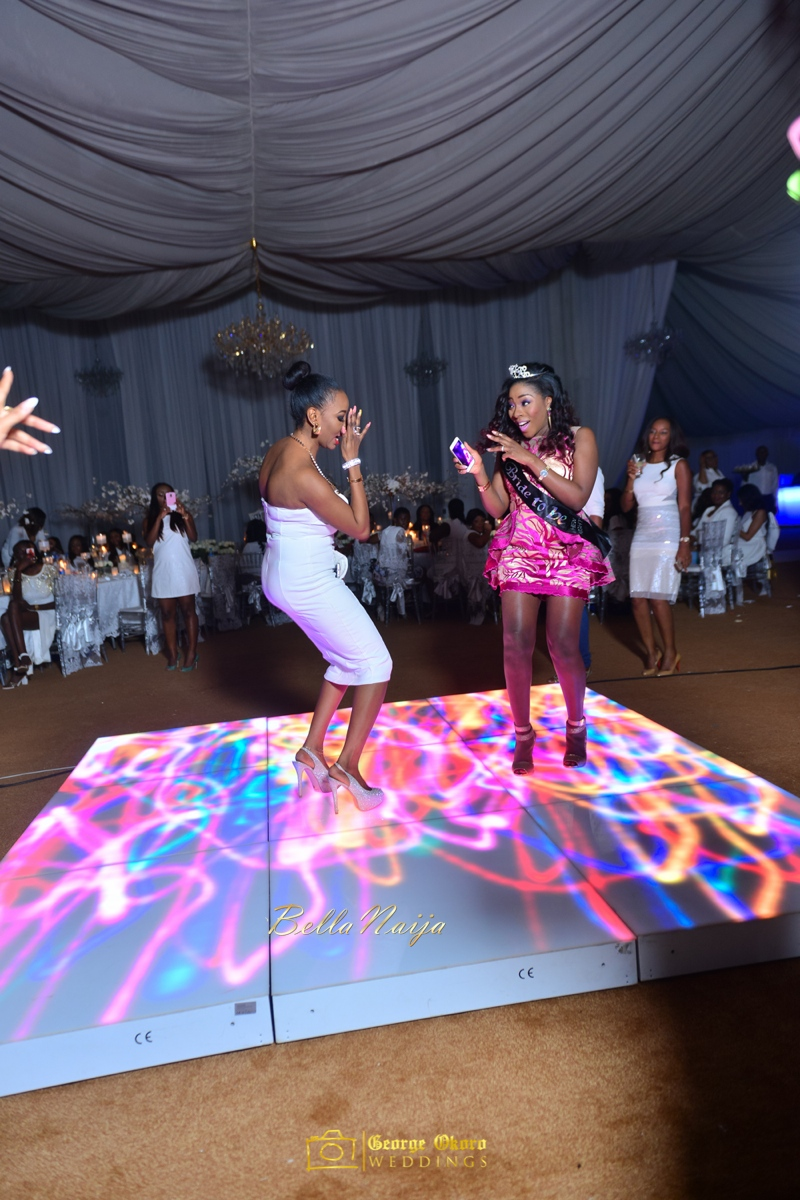 Jammie's Spectacular All-White Bridal Shower | Blue Velvet Marquee Abuja | George Okoro Photography | BellaNaija February 2015 22