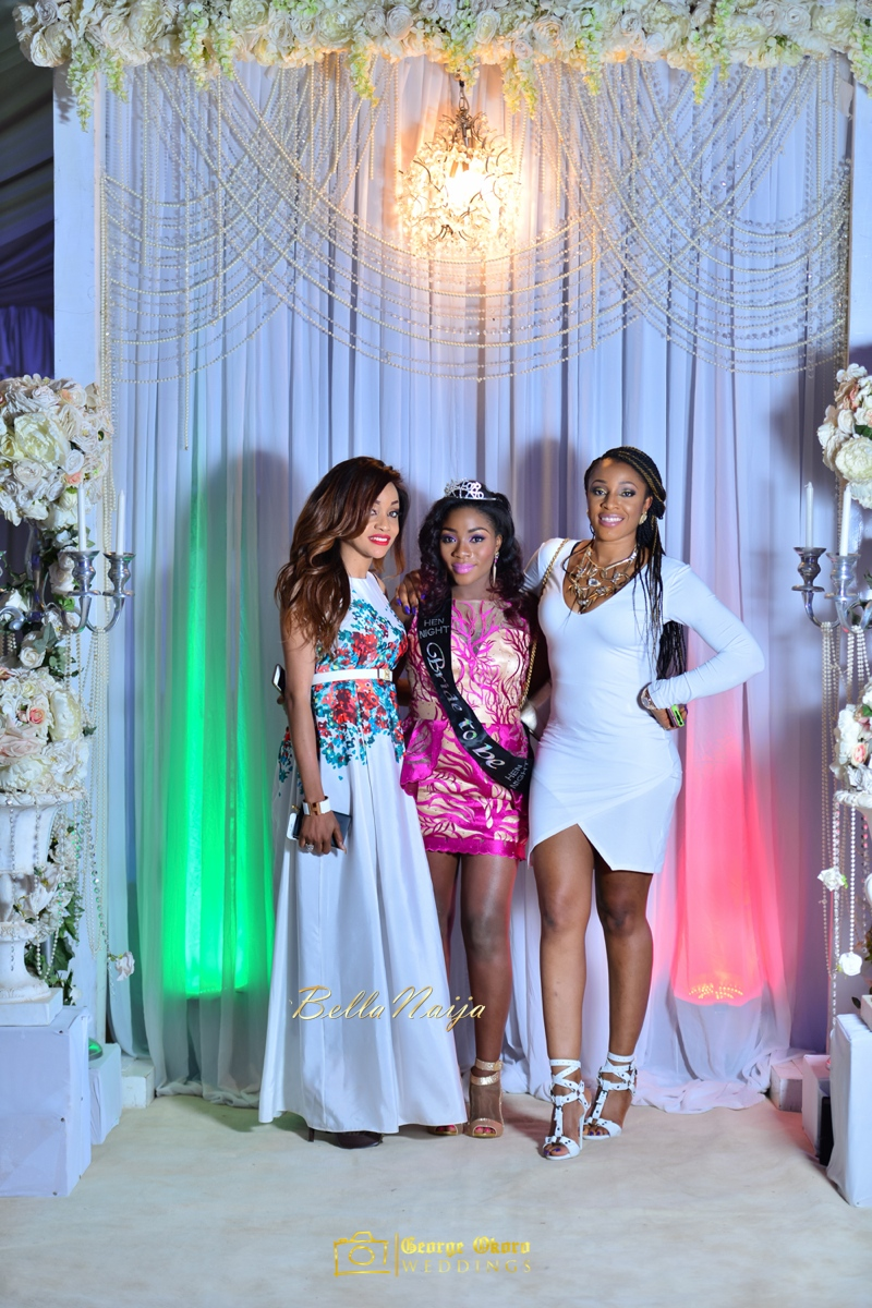 Jammie's Spectacular All-White Bridal Shower | Blue Velvet Marquee Abuja | George Okoro Photography | BellaNaija February 2015 32