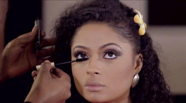 Joyce Jacob Beauty Valentine's Day Inspired Makeup on Lola Rae - Bellanaija - January2015004
