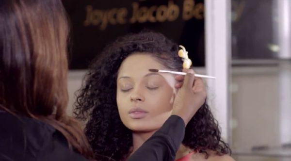 Joyce Jacob Beauty Valentine's Day Inspired Makeup on Lola Rae - Bellanaija - January2015011