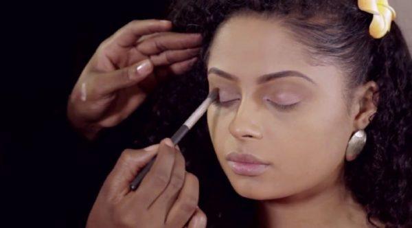 Joyce Jacob Beauty Valentine's Day Inspired Makeup on Lola Rae - Bellanaija - January2015012