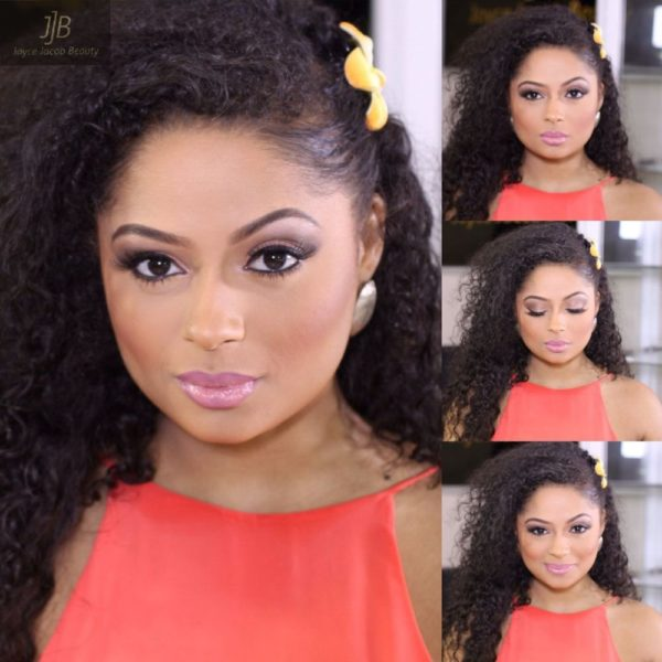 Joyce Jacob Beauty Valentine's Day Inspired Makeup on Lola Rae - Bellanaija - January2015016