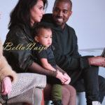 Kim Kardashian, North West & Kanye West
