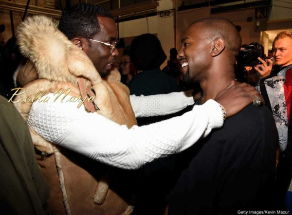 Sean 'Diddy' Combs, Kanye West