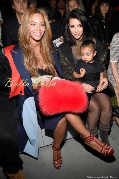Beyonce, Kim Kardashian & North West