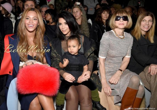 Beyonce, Kim Kardashian, North West & Anna Wintour