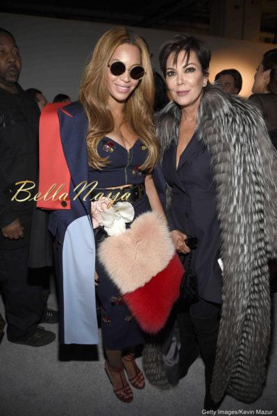 Beyonce & Kris Jenner