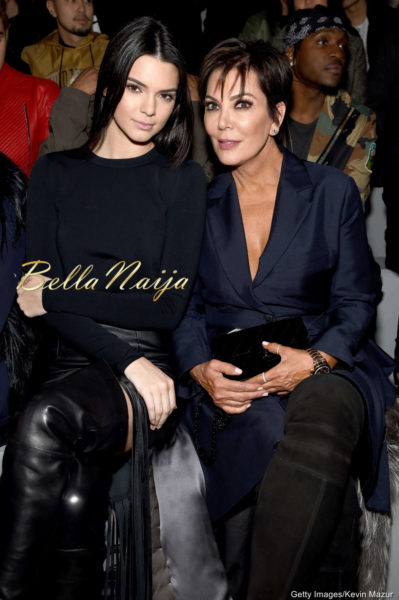 Kendall Jenner & Kris Jenner