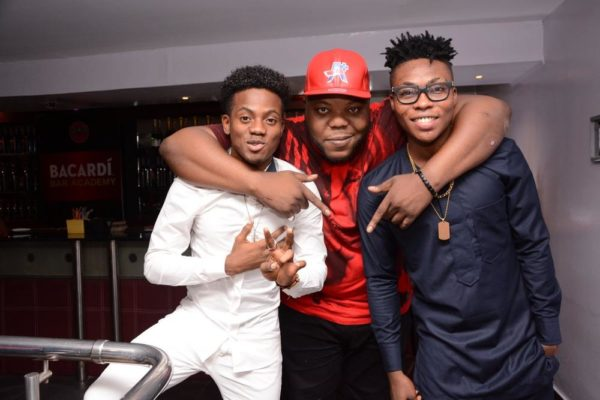Korede Bello, Bizzle & Reekado Banks