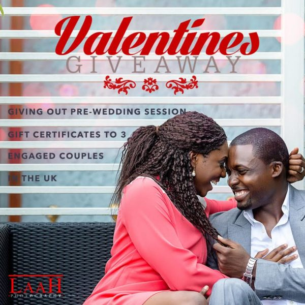 LAAH Photography Valentine's Day Giveaway - BellaNaija - February 2015