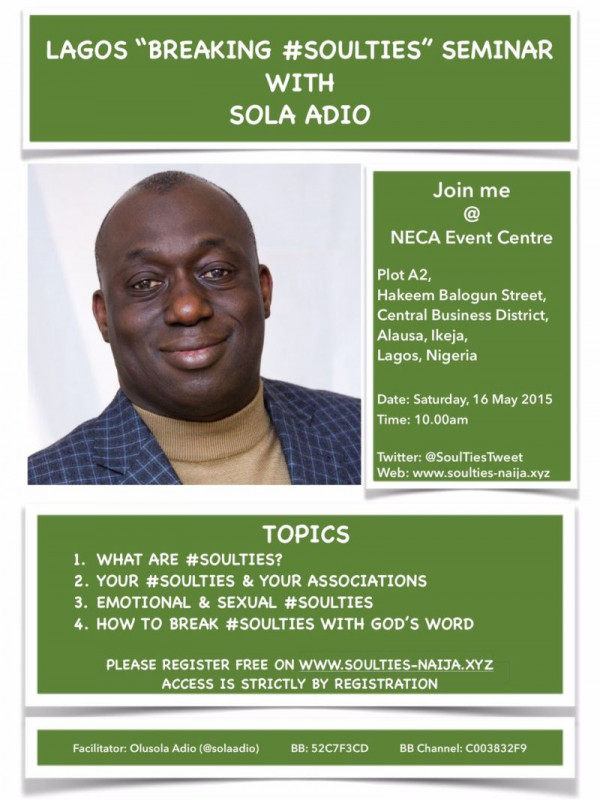 Lagos BreakingSoulTies Seminar - Bellanaija - February 2015