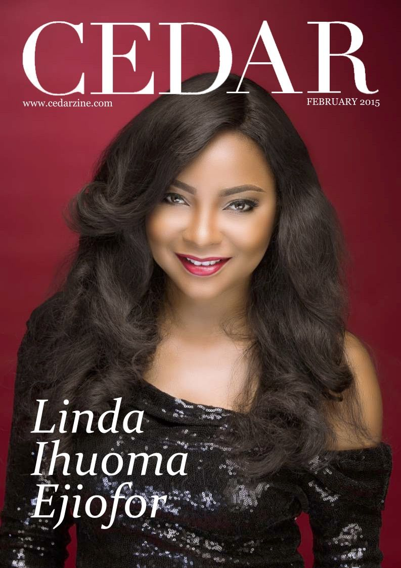 Linda Ejiofor for Cedar Magazine February 2015 Issue - Bellanaija - February2015001