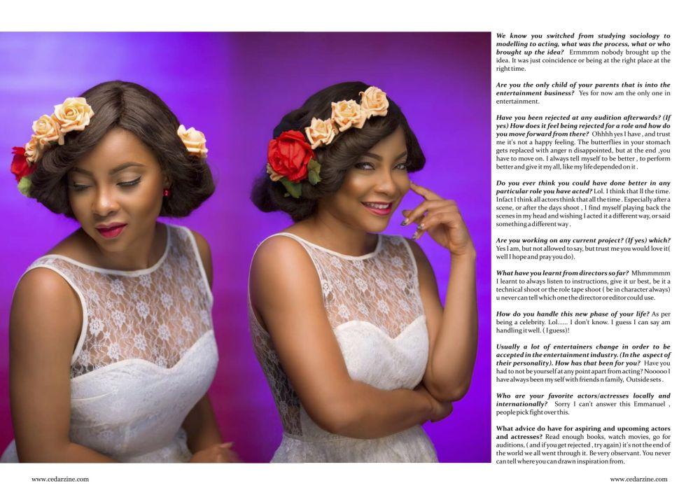 Linda Ejiofor for Cedar Magazine February 2015 Issue - Bellanaija - February2015004