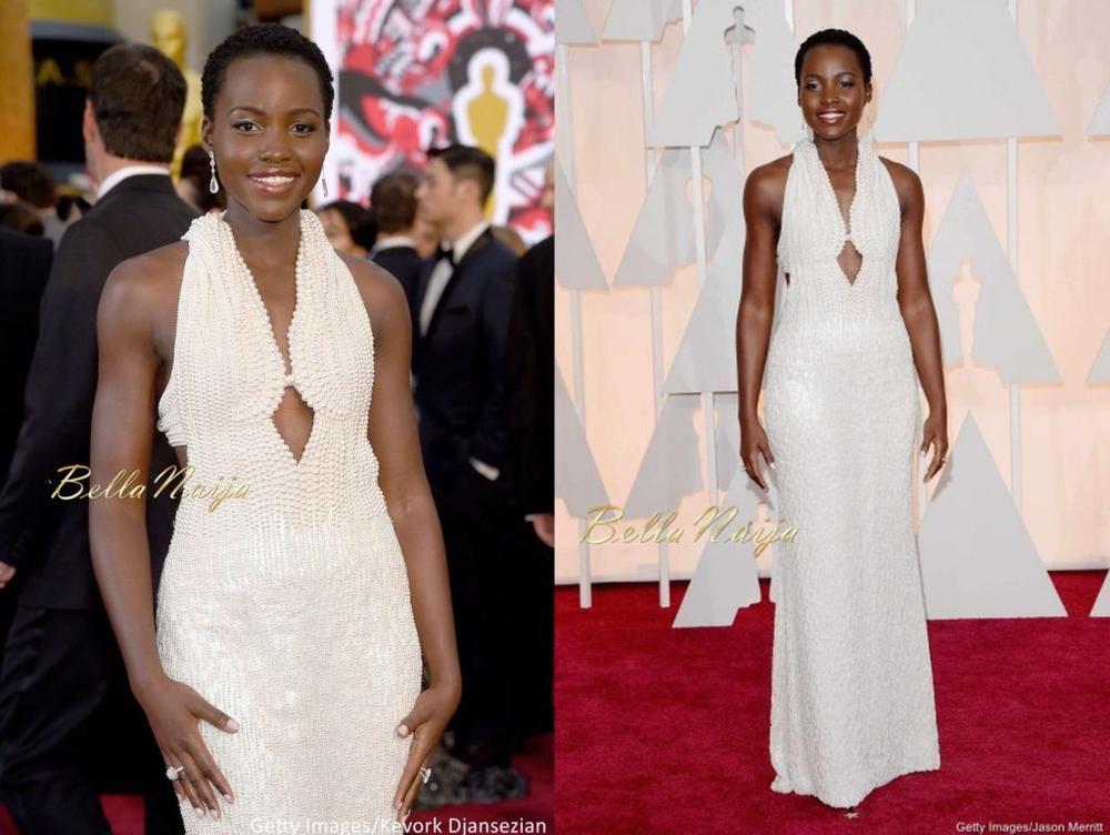 Lupita Nyong'o Oscars Beauty Look - Bellanaija - February2015008 (9)