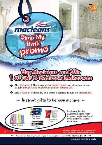 Macleans Pimp My Bath Promo - BellaNaija - February 2015