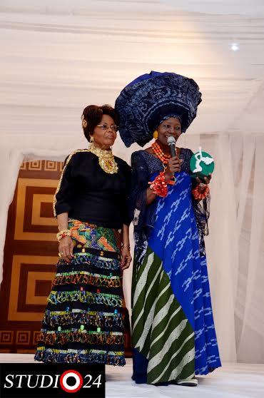 Chief Mrs Opral Benson & Nike Okundaye
