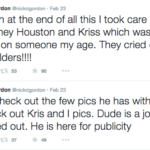 Nick Gordon Tweets against Brown Family 4