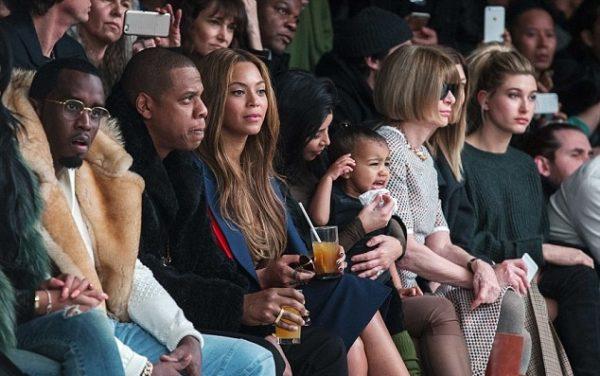 North West Crying Yeezy Kanye West Fashion Show (1)