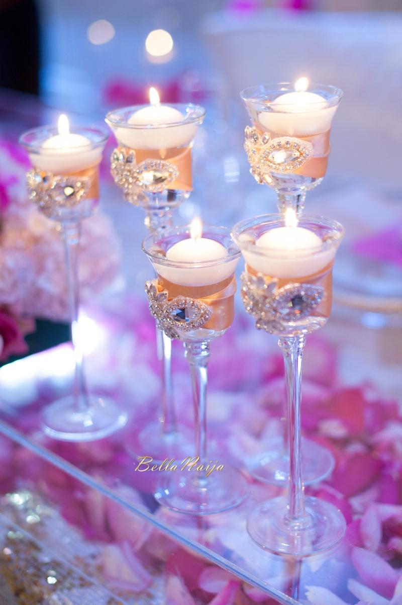 Bn Wedding Decor Omo Amp Emmanuel S Dreamy Pink Amp Gold