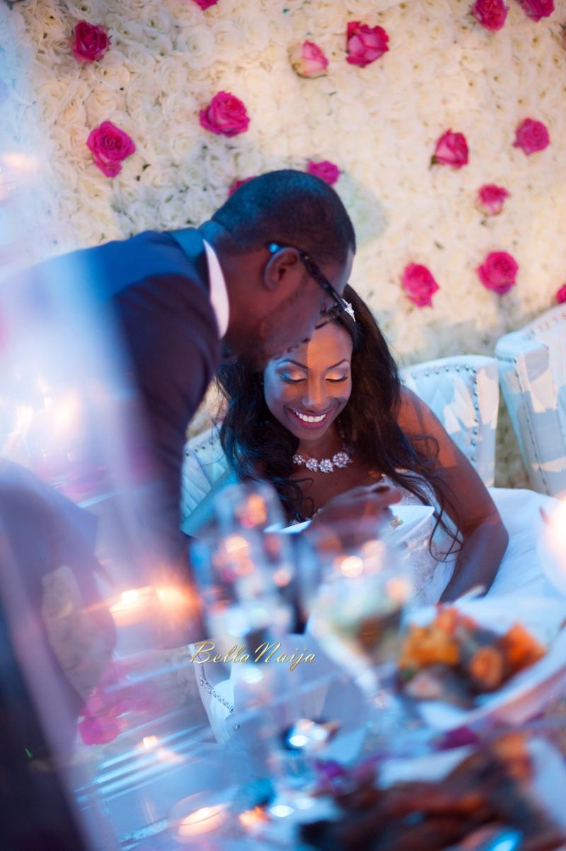 Bn Wedding Decor Omo Amp Emmanuel S Dreamy Pink Amp Gold Wedding Lilyvevents Bellanaija