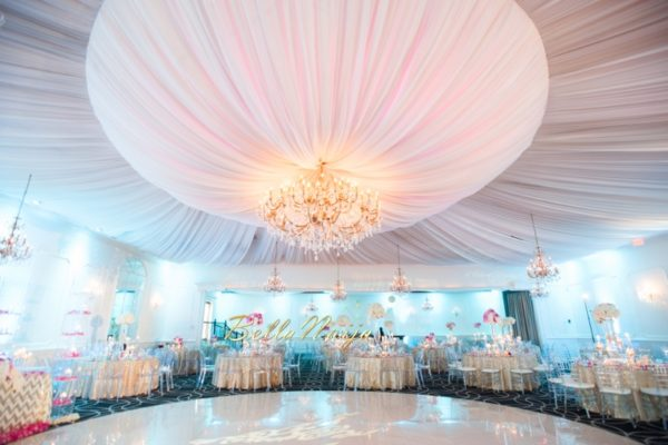 Bn Wedding Decor Omo Amp Emmanuel S Dreamy Pink Amp Gold Wedding Lilyvevents Bellanaija