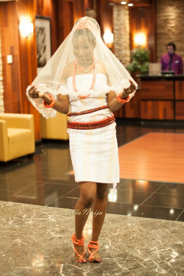 Omo & Emmanuel | BellaNaija Weddings | Nigerian Edo Wedding in New Jersey, USA | Decor by Lily V Events.Traditional-354