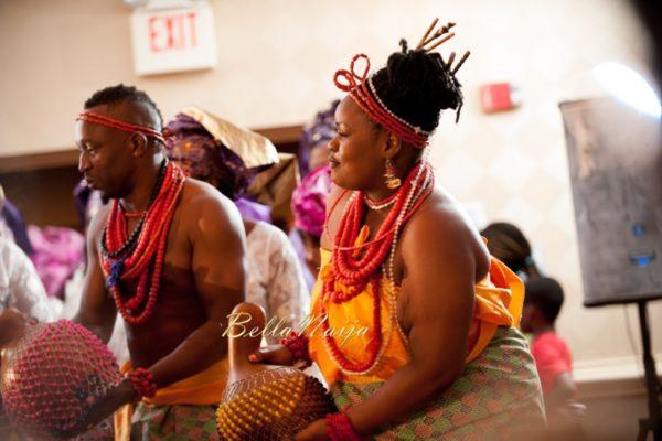 Omo & Emmanuel | BellaNaija Weddings | Nigerian Edo Wedding in New Jersey, USA | Decor by Lily V Events.Traditional-393