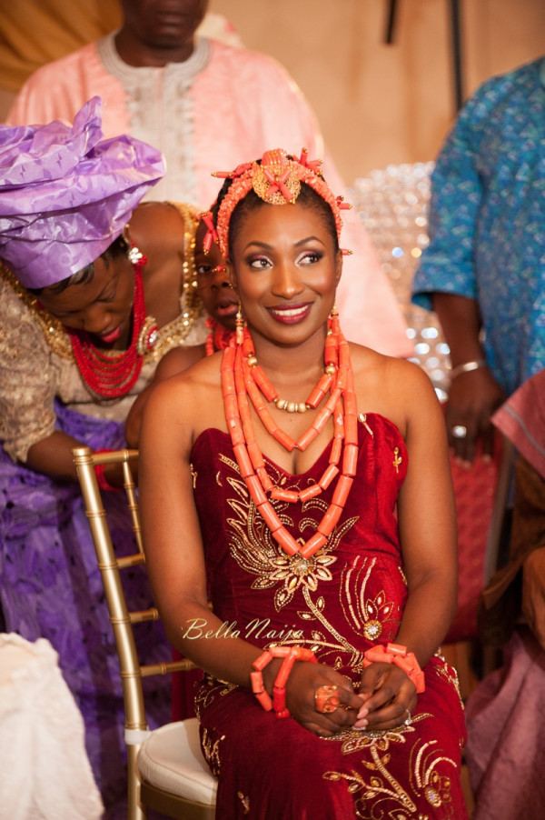 Omo & Emmanuel | BellaNaija Weddings | Nigerian Edo Wedding in New Jersey, USA | Decor by Lily V Events.Traditional-582