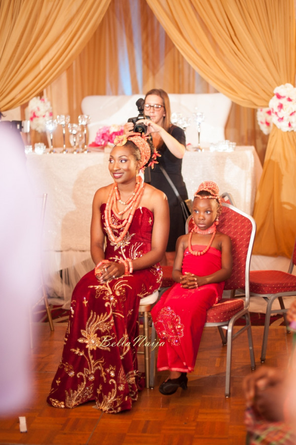 Omo & Emmanuel | BellaNaija Weddings | Nigerian Edo Wedding in New Jersey, USA | Decor by Lily V Events.Traditional-619