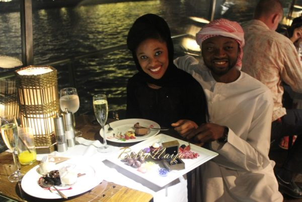 Ose & Kae Proposal in Bateaux Dubai Dinner Cruise, UAE | BellaNaija 2015 06