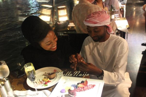 Ose & Kae Proposal in Bateaux Dubai Dinner Cruise, UAE | BellaNaija 2015 07
