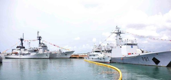 PIC. 9.  INAUGURATION OF 4 NAVAL WARSHIPS  IN  LAGOS