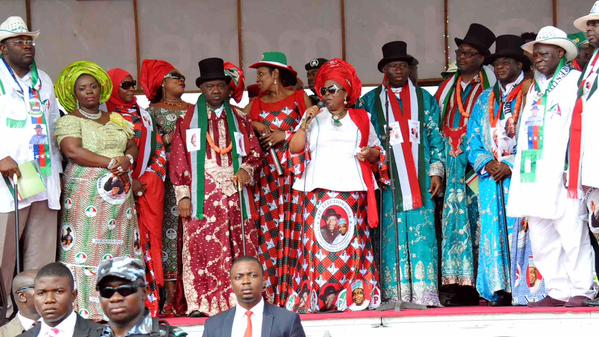 Patience Jonathan PDP Rally Bayelsa 2