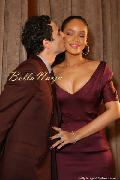 Zac Posen & Rihanna