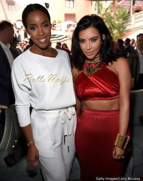 Kelly Rowland & Kim Kardashian