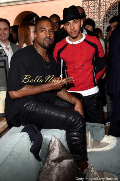 Kanye West & Lewis Hamilton