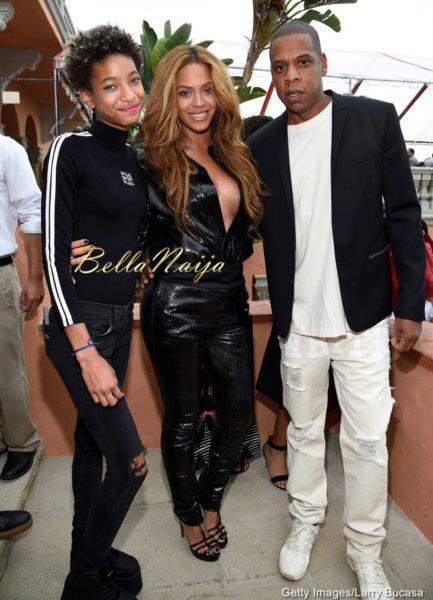 Willow Smith, Beyonce & JayZ