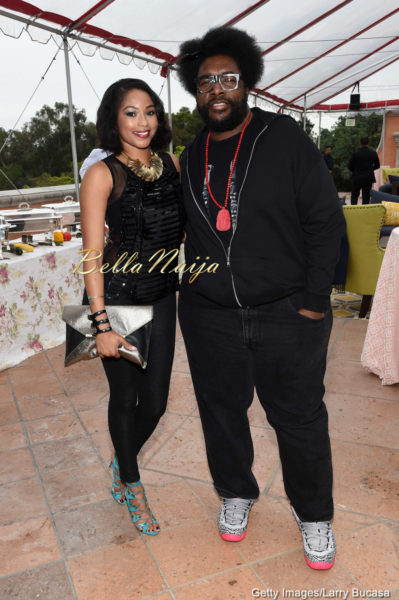 Alicia Quarles & Questlove