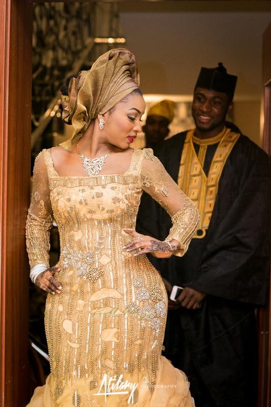 Safiya Meema & Umar Yuguda Wedding | Hausa Nigerian Wedding| BellaNaija February 2015 009