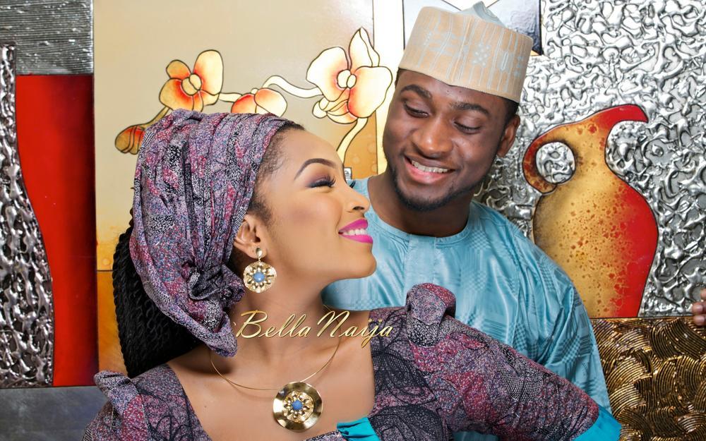 Safiya Meema & Umar Yuguda Wedding | Hausa Nigerian Wedding| BellaNaija February 2015 07