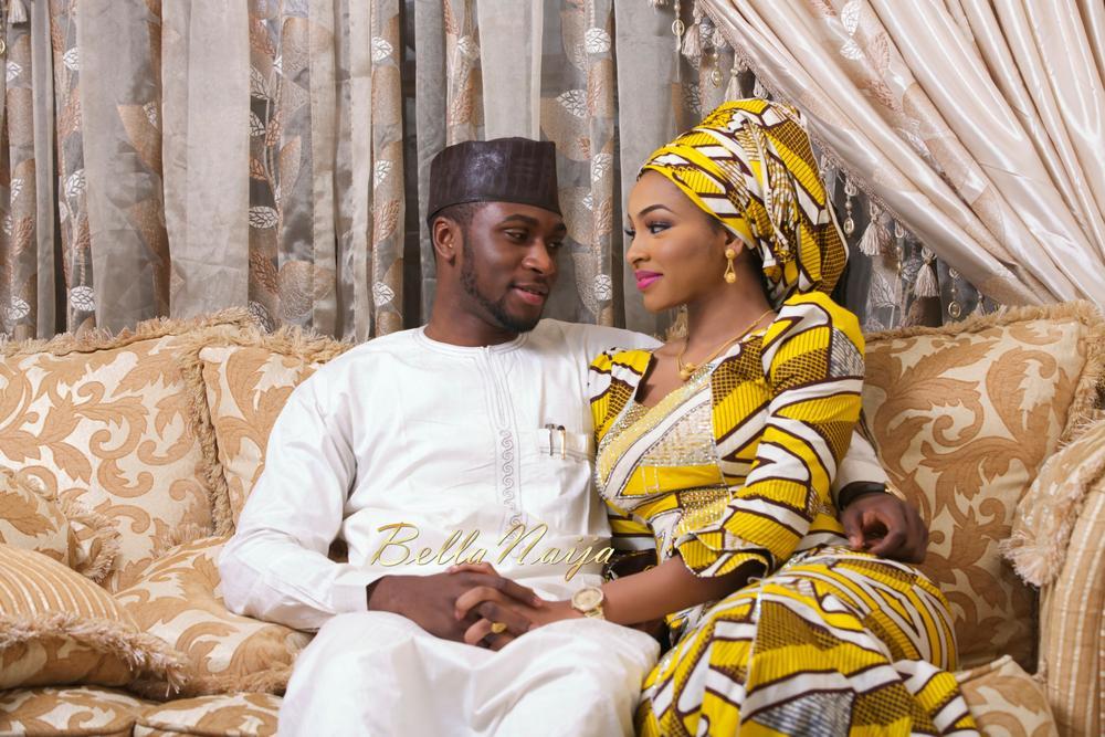 Safiya Meema & Umar Yuguda Wedding | Hausa Nigerian Wedding| BellaNaija February 2015 08