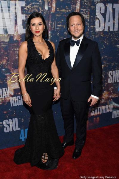 Patricia Azarcoya Schneider & Rob Schneider