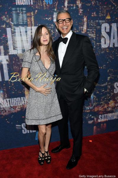 Emilie Livingston & Jeff Goldblum