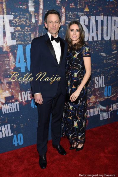 Seth Meyers & Alexi Ashe